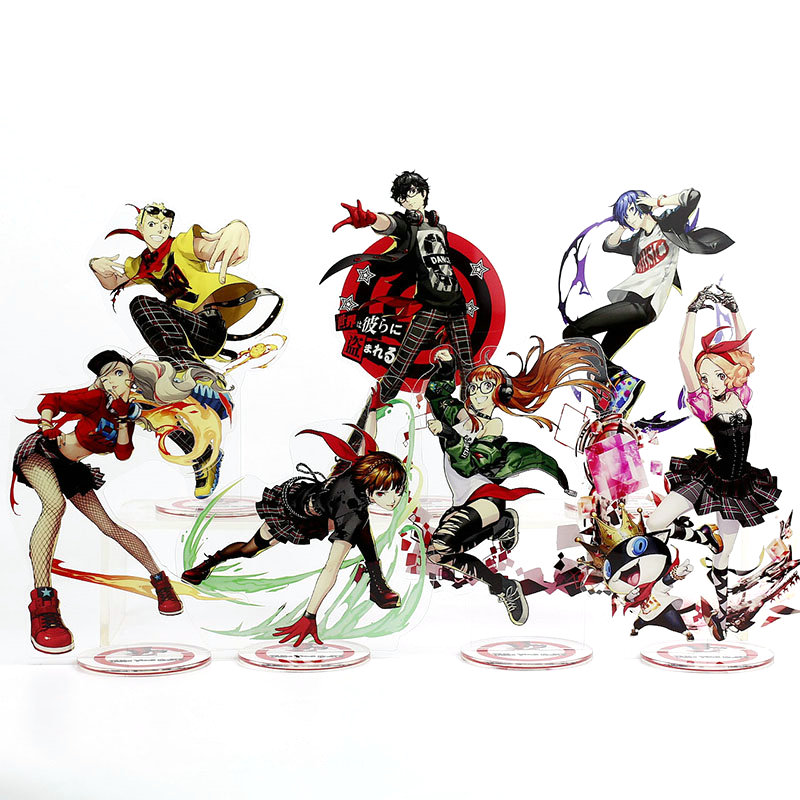 Persona 5 Anime Toy Double Sided Plastic Action Figures Toy High Quality Collection Model Toys 21cm