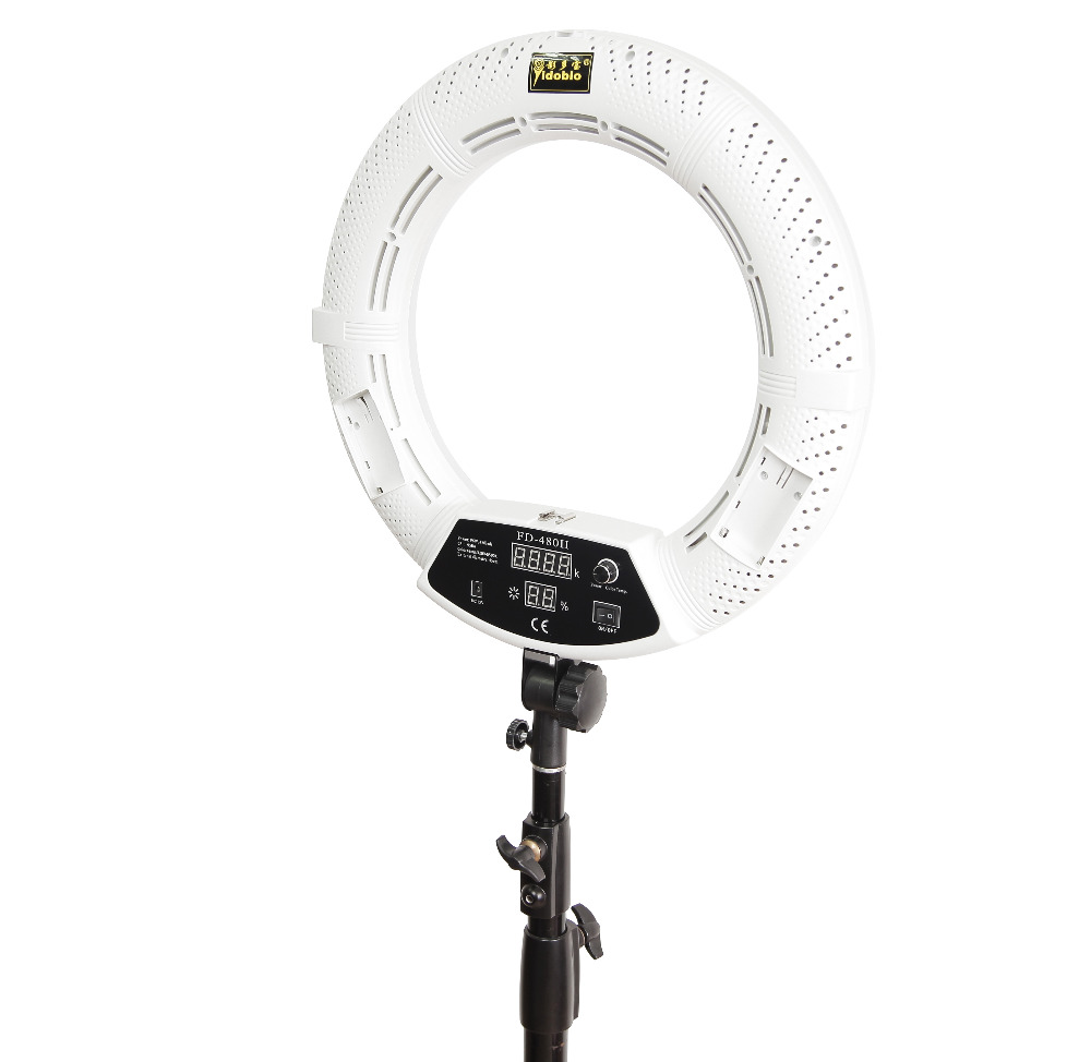 Yidoblo FD-480II blanc bi-couleur Photo Studio Macro Ring Light LED - Caméra et photo - Photo 3