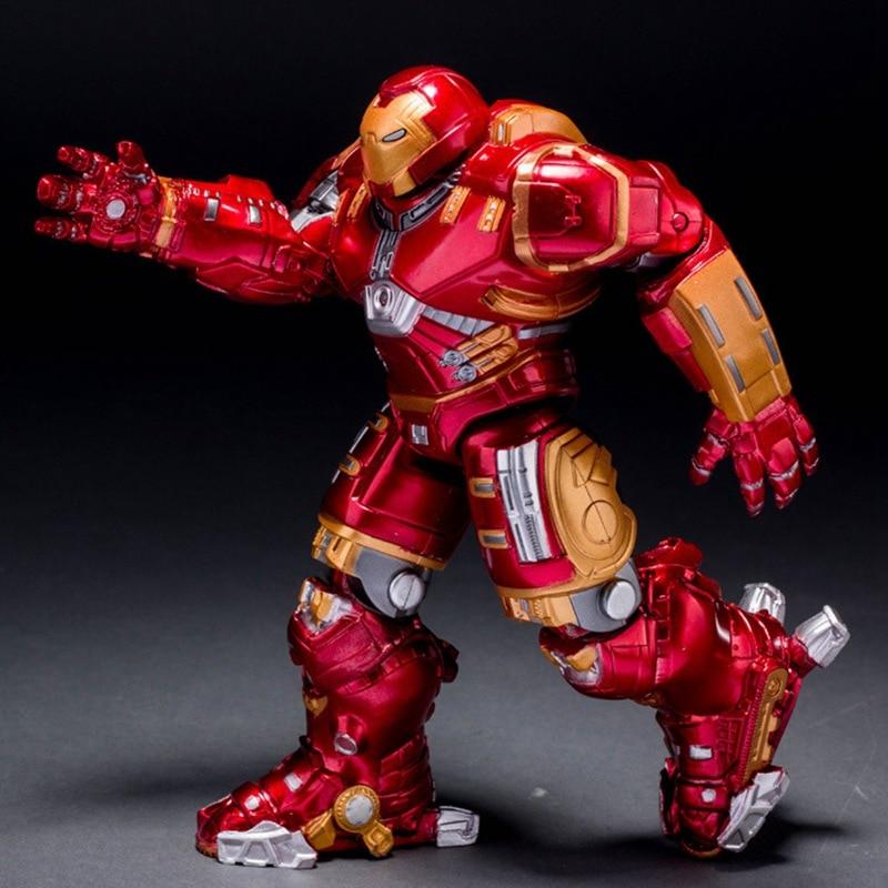 Avengers Ironman Action Figures Hulkbuster Superman 17cm Iron Man Action Figures Hot Toys Pvc Figure Kids Toys
