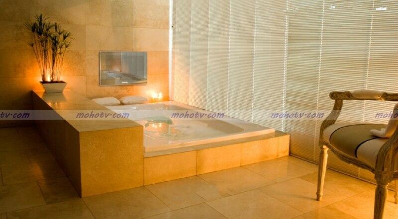 Bathroom Mirror Usb 22 inch deluxe bathroom mirror tv waterproof digital hdtv monitor