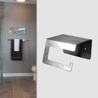 Brushed Nickel Toilet Paper Holder,SUS304 Stainless Steel Bathroom Paper Tissue Holder