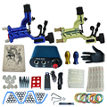 tattoo complete tattoo kit power supply+poot pedal+2 alloy grips+accessories 9kitB