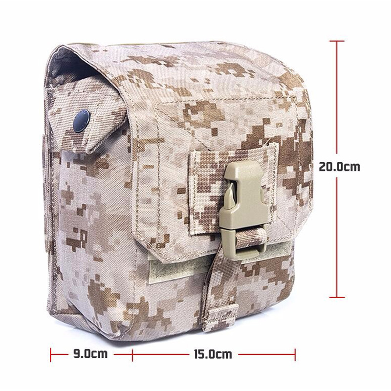 FLYYE MOLLE M60 100Rds Ammo Pouch Military camping modular combat CORDURA M012