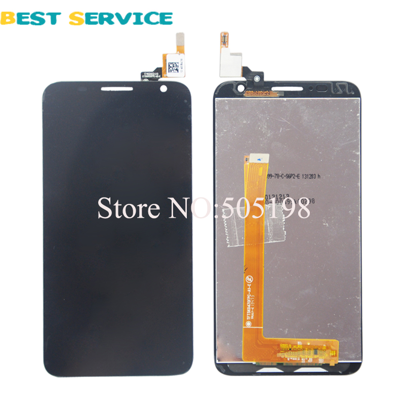ФОТО 100% New For Alcatel One Touch Idol 2S 6050 6050Y OT6050 LCD Screen Display with Touch Screen Digitizer Assembly Free Shipping