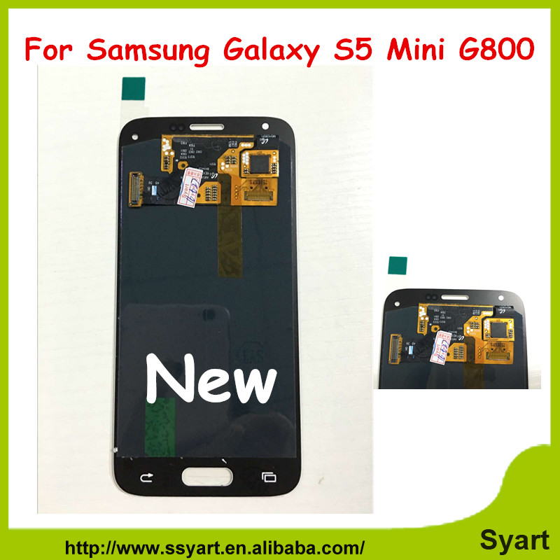 S5 Mini G800 china alibaba For Samsung Galaxy S5 Mini Lcd Display For G800 G800F G800H With Touch Screen Digitizer Assembly DHL