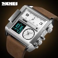 SKMEI 1391 Luxury Top Men Quartz Digital Sports Watches Fashion Analog Military Watch Clock Men Waterproof Relogio Masculino