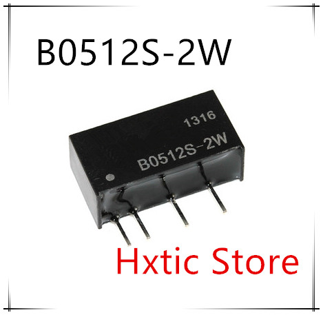 10PCS/LOT B0512S-2W B0512S 2W B0512 DC-DC Boost Module 5V 12V Isolated Switching Power Supply