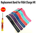 Silicone replacement band repair wriststrap DIY fix replace strap For Fitbit Charge HR band chargehr watch rubber wrist band