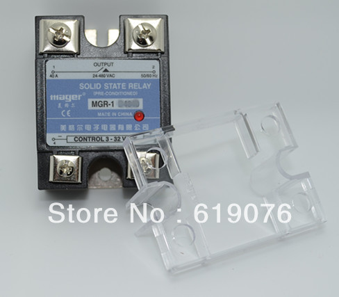 Mager SSR 40A DC AC Solid state relay Quality Goods MGR 1 D4840 mager ssr 40a dc ac solid state relay quality goods mgr 1 d4840 in  at fashall.co