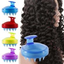 1Pcs Multipurpose Silicone Head Body Shampoo Scalp Massage Brush Bath