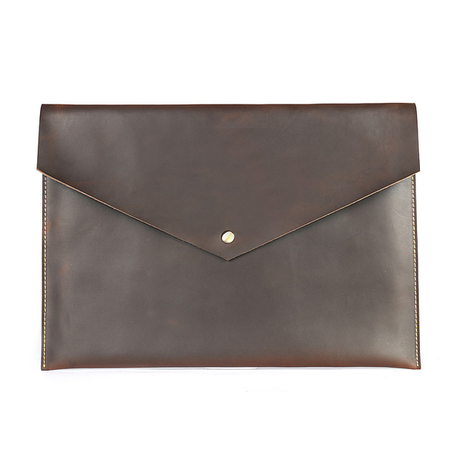 Folder for A4 Documents Organizer Nature Cow Leather Folders For Document A4 Leather Folder Storage Filing Products