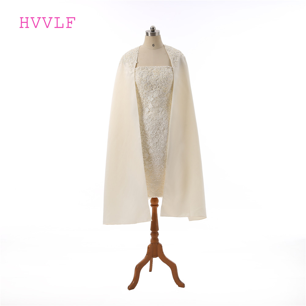 Champagne 2019 Elegant   Cocktail     Dresses   Sheath Strapless Short Mini Appliques Lace Beaded Homecoming   Dresses