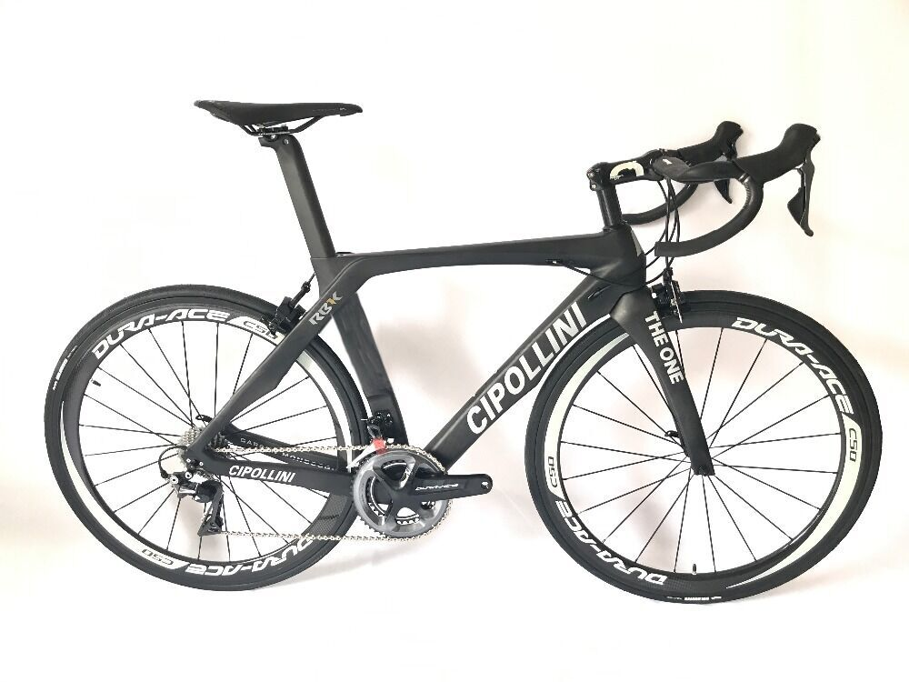 2018 Cipollini RB1K THE ONE Carbon Road Bike Complete Bicycle Carbon BICICLETTA Bicycle Bike Group R8000carbon 50mm Clincher(China)