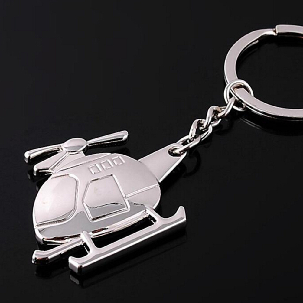 Airplane model Modern Plane Key Holder keyring keychain Key Chain Key Ring image
