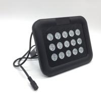 CCTV LEDS 15PCS White Light LED Array illuminator lamp Waterproof DC 12V CCTV Fill Light for CCTV camera