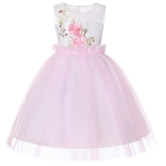 Kids Dresses For Girls Tutu Birthday Princess Party Dress Princess Flower Girl Dresses For Age 2 3 4 5 6 7 8 9 10 12 14 15 Years 1
