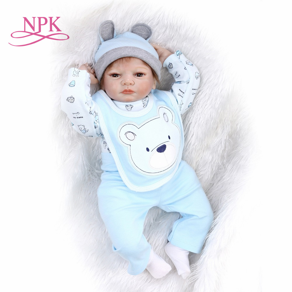 NPK reborn doll with soft real gentle touch NEW hot sale lifelike reborn baby doll wholesale baby dolls fashion doll все цены