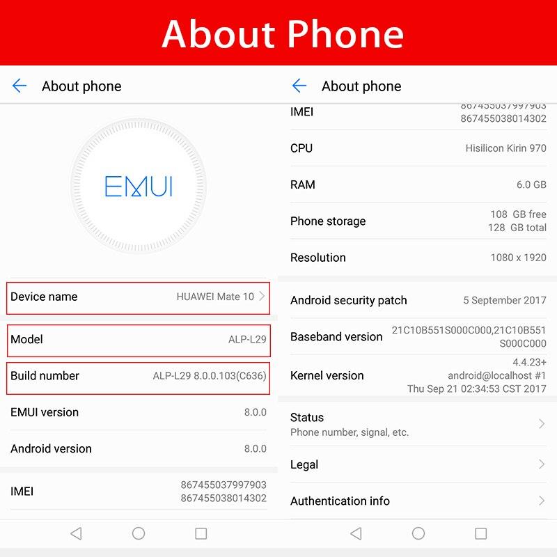 Global Version Huawei Mate 10 4GB RAM 64GB ROM Octa Core 5 9''Kirin 970  2560x1440 4000mAh 4G LTE 1080P 3 Cameras NFC Fingerprint-in Mobile Phones  from