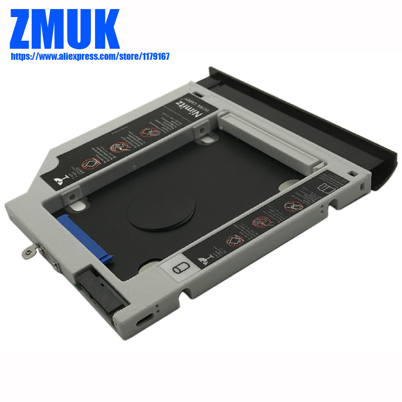 New SSD HDD Adapter Caddy w/ Faceplate For Lenovo Ideapad 300 300-15 300-15ibr 300-15ISK Series цена и фото