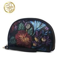 Famous brand top quality dermis women bag 2016 summer new China the wind hand bags Retro Embossed Clutch Wallet