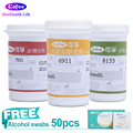 Cofoe Blood Glucose&Cholesterol&Uric Acid 3in1 Test strips FREE Lancets and Wipe Only for Cofoe Multi-functonal Detector BKM13-1