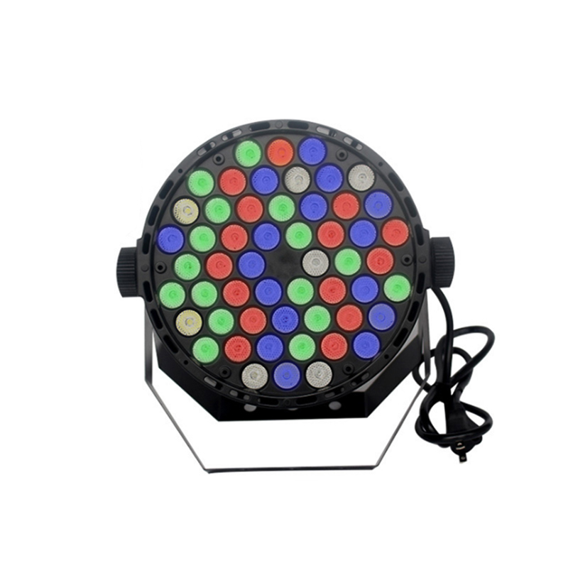 Led 54 light bulbs sound control stage effect light spotlights professional lights for disco DJ performance lights