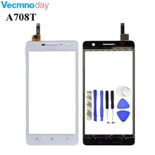 Vecmnoday 100% QC PASS Touch Screen Digitizer Glass Panel For Lenovo A708T A708+tools(China)