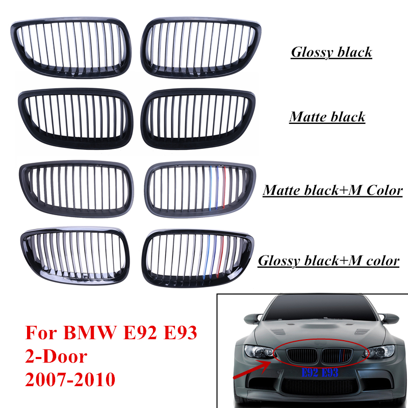 Front Grille Kidney Grill For BMW E92 E93 M3 3 Series 328i