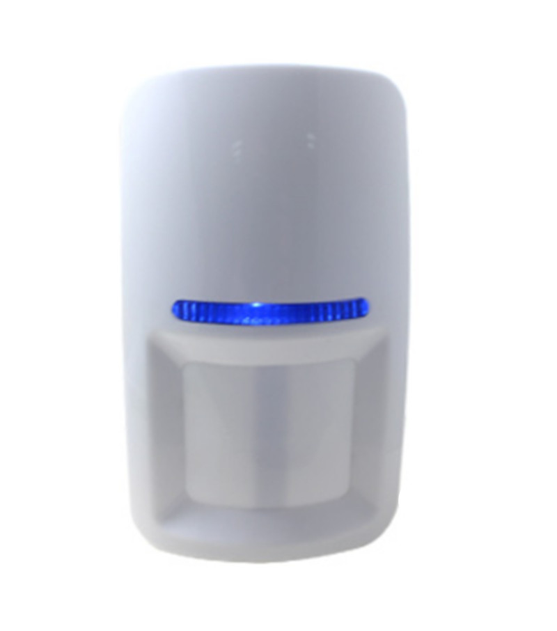 Wireless Curtain PIR Motion Sensor For Burglar Alarm System 433Mhz/315Mhz цена и фото