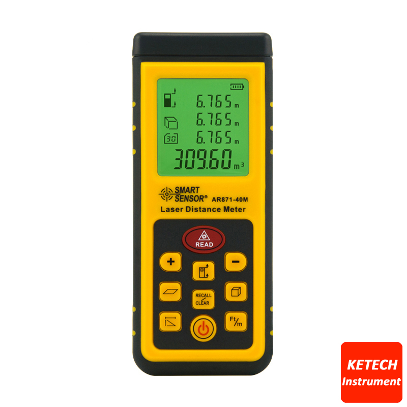 Laser Distance Meter 0.3~40m AR871 цена