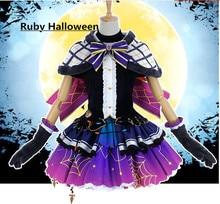 Love Live! Sunshine Aqours SS Kurosawa Ruby Halloween awakening cosplay costume free shipping free shipping fire emblem awakening tiamo cosplay costume