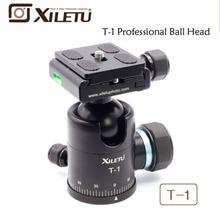"""Xiletu t-1 en aluminium trépied manfrotto rotule avec quick release plate 1/4 """"vis pour canon nikon sony fujifilm dslr"""