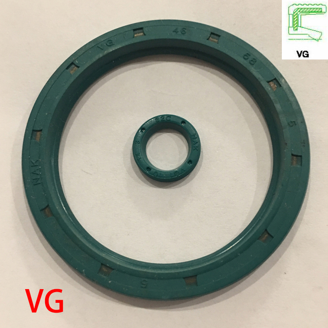 VG 10*14*3 10 × 14 × 3 10*15*3.1 10 × 15 × 3.1 グリーン NBR ニトリルゴム U シングルリップ雄ねじ Rotaroty スケルトンガスケットオイルシール