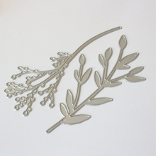 Leaf Cutting Dies Stencil DIY Scrapbooking Embossing Album Paper Card Crafts Folder