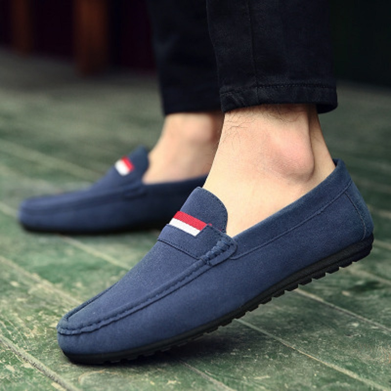 Spring and autumn new youth trend shoes flat comfortable casual men's shoes 46
