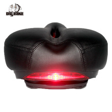 Здесь можно купить  DRBIKE Bike Saddle Comfortable Thicken Soft Seat Sponge Big Cushion with Warning Taillight MTB Mountain City Bike Accessories  Cycling