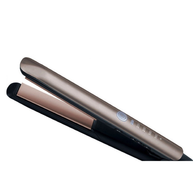LED Professional Hair Straightener Ionic Titan Ceramic Flat Irons Digital Straightening Iron Electric Hair Care Styling Tools professional vibrating titanium hair straightener digital display ceramic straightening irons flat iron hair styling tools