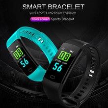 Y5 Color Screen Smart Watch Women Sport Fitness Bracelet Track Pedometer Hear Rate Blood Pressure Monitor watch