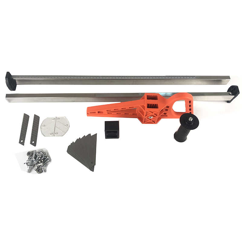 New Stainless Steel Manual Gypsum Board Cutting Artifact Roller Type Hand  Push Drywall Cutting Tool High Quality Cutting Tools