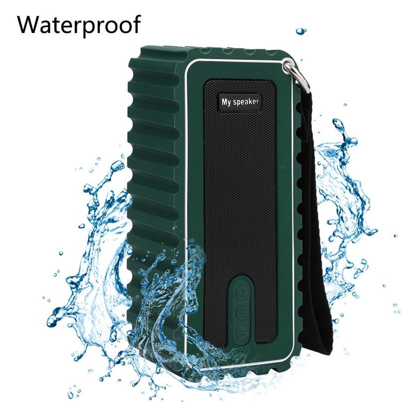 New Arrivals Bluetooth Outdoor Speaker Waterproof Portable Wireless Speaker with FM Radio Free Shipping NOM17