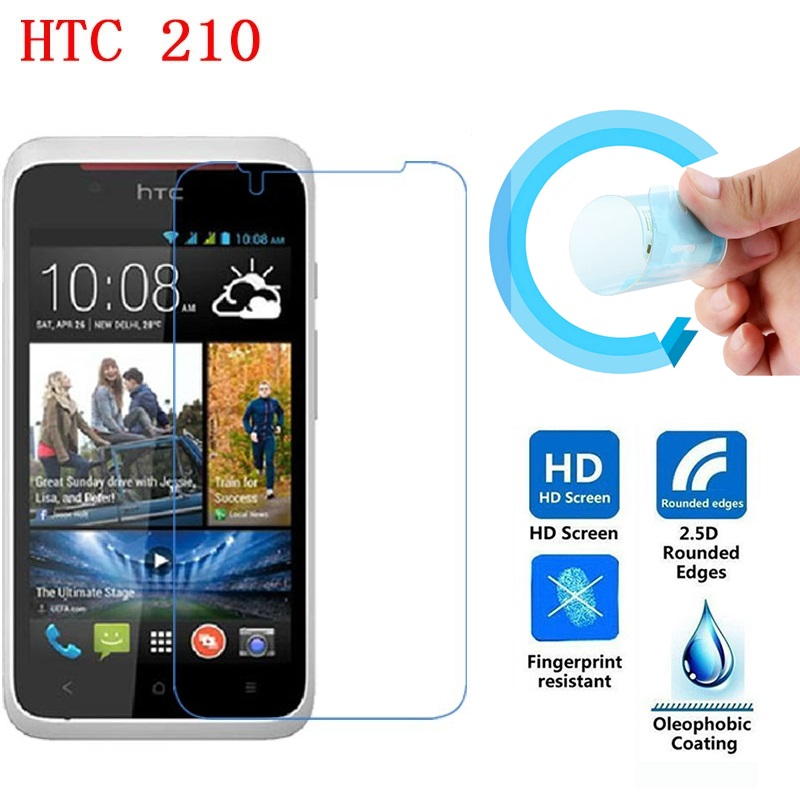 Screen Protective Film for HTC Desire 210, Ultra-Thin HD Clear Soft Pet Screen Protector Film for HTC Desire 210 Dual SIM