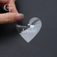 Custom Die Cut Shape Transparent Clear PVC Paper Stickers Customized Adhesive Waterproof Stickers
