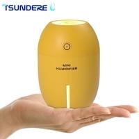 TSUNDERE L USB 180 Ml Mini Humidifier Lemon Air Humidifier Essential Oil Diffuser Mute Home Office