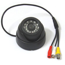 1/3″ Sony CCD IR Color Security CCTV Camera Wide Angle 3.6mm Lens with Audio