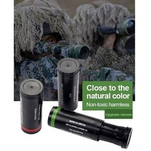цена на 1Pcs Multicolor Outdoor Tactical Military Camping Paint Face Camouflage Oil Body Paint Face Paint Army Fan for Paintball Hunting