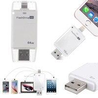 128G 256 GB USB אני דיסק און קי U דיסק OTG זיכרון מקל עבור iPhone 5 5S 6 6 בתוספת 7 8 X