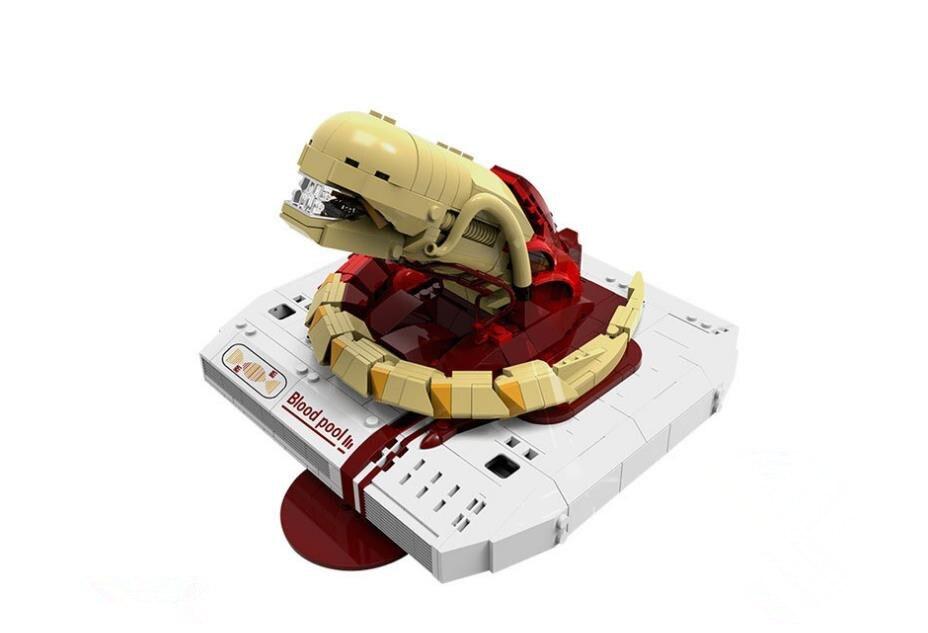830pcs Star Wars Creative Movie MOC Series The Alien Baby Predator Building Blocks Model  Bricks Gift  Christmas gift