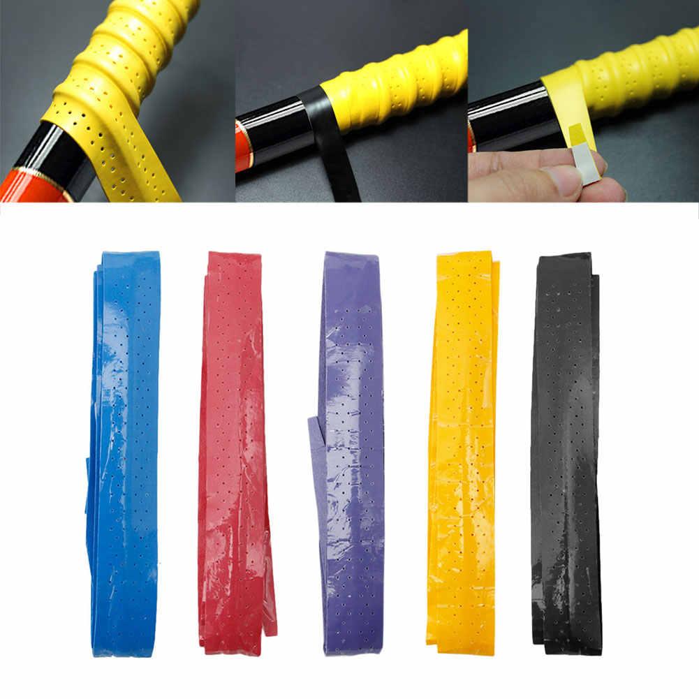 Anti Slip Racket Over Grip Roll Tennis Badminton Squash Handle Tape 5 Colors