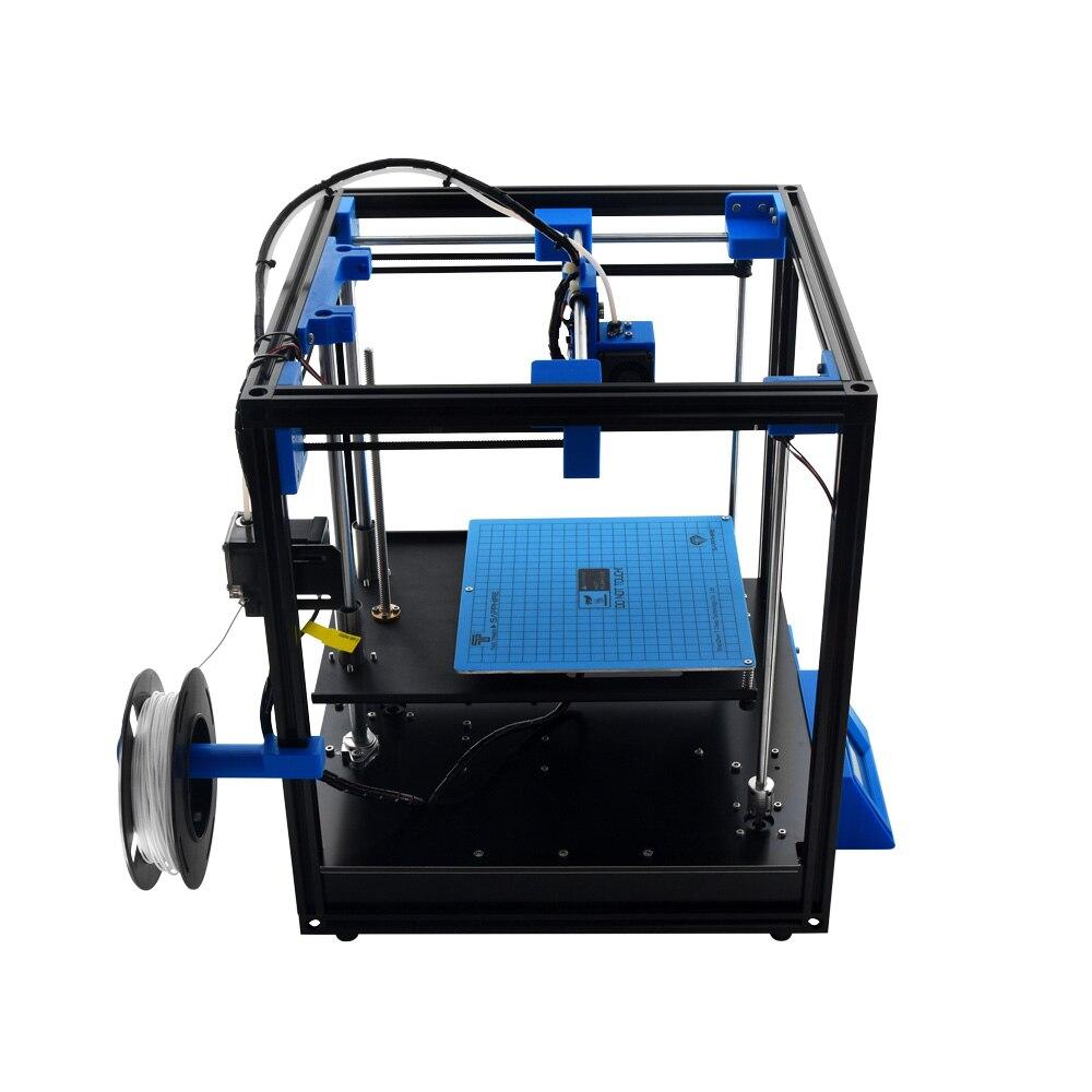 200*200mm 3D Printer High-precision Sapphire Aluminium Profile Frame 3d Print DIY Kit Area CoreXY System Big Area area