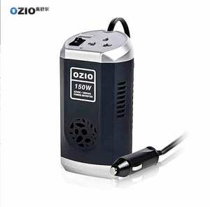 Car Air Purifier with USB Charger DC 12 V to 220 V AC/Converter Car Power Inverter